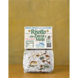 Principato di Lucedio PUMPKIN RISOTTO with and APPLE - 250 g - in Cellophane bag with protective atmosphere