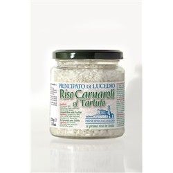 Principato di Lucedio Risotto with Truffle - 220 g - Glass Jar