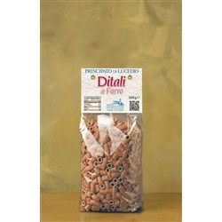 Principato di Lucedio of SPELT PASTA - THIMBLES - 500 g - in Cellophane bag with protective atmosphere