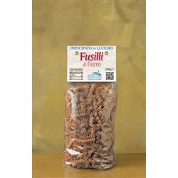 of SPELT PASTA - FUSILLI - 500 g - in Cellophane bag with protective atmosphere