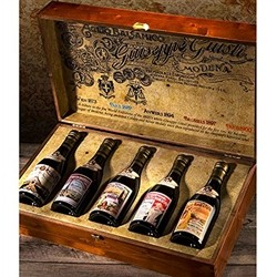 Acetaia Giuseppe Giusti Commemorative Collection ''Ancient Universal Expositions''-Box with 5 bottles of Balsamic Vinegar of