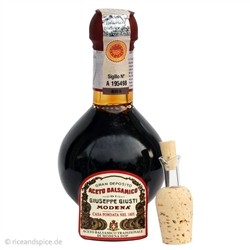 Traditional Balsamic Vinegar of Modena D.O.P. - Refined with pouch Carton - 100 ml