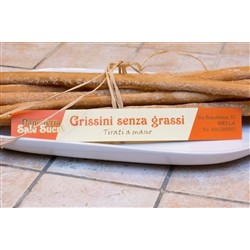 Bakery Panè Sucre Artisan Bread Sticks without Greases - (3x250g) - Handmade in Piedmont (Italy)