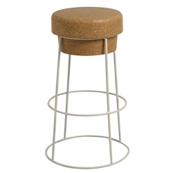 Renoir High Stool - from solid cork counter stool