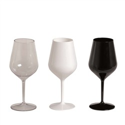 Chalice Unbreakable 47 - September 6 Goblets - Plastic Goblet (Tritan) Available in 3 colors: transp