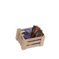 Deposit Natur Small - natural wood box with gift box