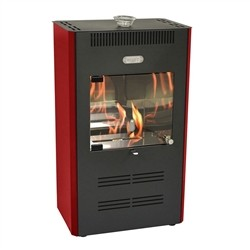 Tecno Air System 3000W bioethanol stove - 100mc3 - RUBY - Bordeaux