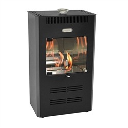 Tecno Air System 3000W bioethanol stove - 100mc3 - RUBY - Black