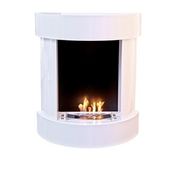 Tecno Air System Bio-fireplace SANREMO - 2.5kW - White Painted Steel