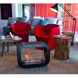 Tecno Air System Bio-fireplace IMOLA - 2kW - Red Steel