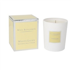 Max Benjamin MAX BENJAMIN - SCENTED CANDLE WHITE LILIES 190g