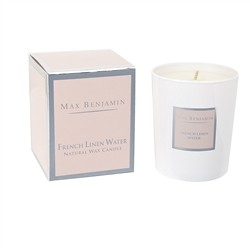 Max Benjamin MAX BENJAMIN - SCENTED CANDLE FRENCH LINEN WATER190G