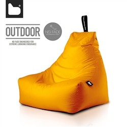 B-Bag by Extreme Lounging  Poltrona a Sacco OUTDOOR - b-bag mighty-b Orange - Resistente all'acqua - 100% Polyester - Resistent
