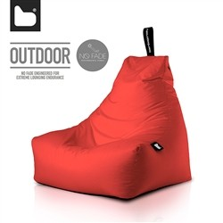 B-Bag by Extreme Lounging  Poltrona a Sacco OUTDOOR - b-bag mighty-b Red - Resistente all'acqua - 100% Polyester - Resistente U