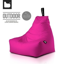 B-Bag by Extreme Lounging  Poltrona a Sacco OUTDOOR - b-bag mighty-b Pink - Resistente all'acqua - 100% Polyester - Resistente