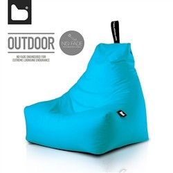 B-Bag by Extreme Lounging  Poltrona a Sacco OUTDOOR - b-bag mighty-b Aqua - Resistente all'acqua - 100% Polyester - Resistente