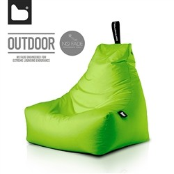 B-Bag by Extreme Lounging  Poltrona a Sacco OUTDOOR - b-bag mighty-b Lime - Resistente all'acqua - 100% Polyester - Resistente
