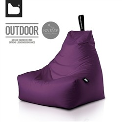 B-Bag by Extreme Lounging  Poltrona a Sacco OUTDOOR - b-bag mighty-b Berry - Resistente all'acqua - 100% Polyester - Resistente