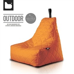 B-Bag by Extreme Lounging  Poltrona a Sacco OUTDOOR - b-bag mighty-b Orange - Quilted - Resistente all'acqua - 100% Polyester -