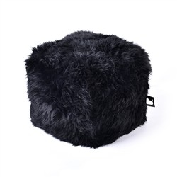 B-Bag by Extreme Lounging  b-box Sheepskin Black -'FUR