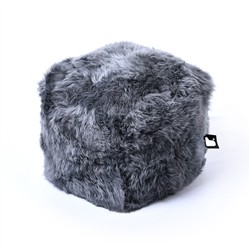 B-Bag by Extreme Lounging  b-box Sheepskin Grey -'FUR