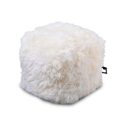 B-Bag by Extreme Lounging  b-box Sheepskin White -'FUR