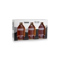 Thunder Toffee Vodka - Gift pack with 3 5cl bottles