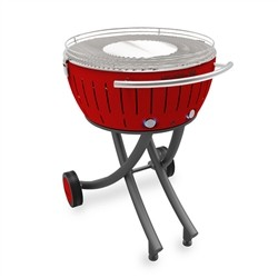 Lotusgrill XXL with wheels - Red