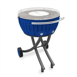 Lotusgrill XXL with wheels - Blue