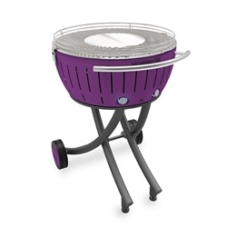 Lotusgrill XXL with wheels - Purple