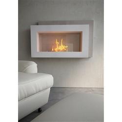 maisonFire Biofireplace PASO DOBLE White Caramel