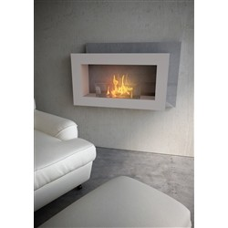 maisonFire Biofireplace PASO DOBLE Pearl White