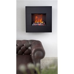 maisonFire FUMETTO Black - Electric fireplace