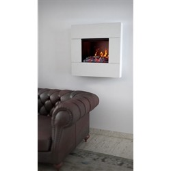 maisonFire FUMETTO White - Electric fireplace