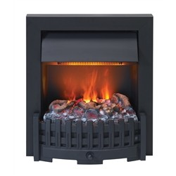 maisonFire DANVILLE BLACK - Electric fireplace