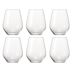 Spiegelau Glasses Authentis Tumbler - 6pcs