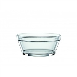 Bistrò Crystal Bowl L - 4pcs