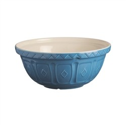 Mason Cash Bowl Size 18 Colour Mix - Blue