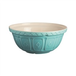 Mason Cash Bowl Size 18 Colour Mix Turquoise