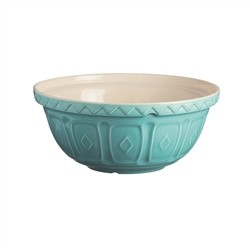 Mason Cash Bowl Size 24 Colour Mix Turquoise