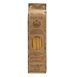 Morelli Pasta Factory - Spaghetti with Durum Wheat Semolina - gr. 500 x 24
