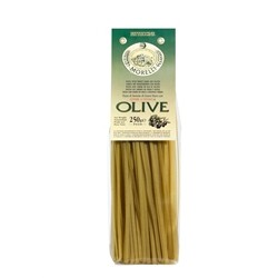 Morelli Pasta Factory - Fettuccine with Green Olives - gr.250 x 16