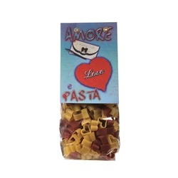 Morelli Pasta Factory - Pasta Cuori with Tomato and Wheat Germ - gr.250 x 16