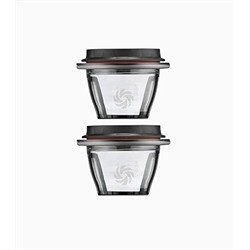 Vitamix - Ascent - Set 2 ciotole con coperchi