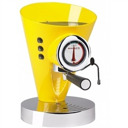 Bugatti 15-DIVA C6 Machine for Espresso Coffee and Cappuccino Diva Evolution, Yellow