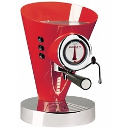 Bugatti 15-DIVA C3 Machine for Espresso Coffee and Cappuccino Diva Evolution, Red