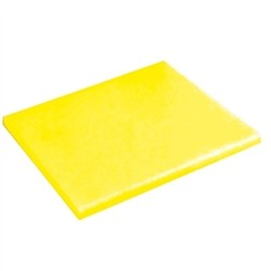 Gn 1/2 yellow PE cutting board
