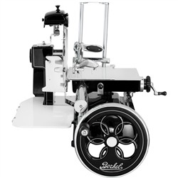 BERKEL Berkel - Flywheel Slicer - Mod. B2 News 2018 - Black with Decors   Silver and Flywheel   flowered
