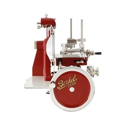 BERKEL Berkel - Flywheel Slicer - Mod. B3 News 2018 - Berkel Red with Gold Decorations and Full Flywheel