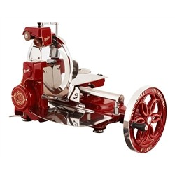 BERKEL Berkel - Flywheel Slicer - Mod. B114 News 2018 - Red   Berkel with Decorates Gold is They fly   flow
